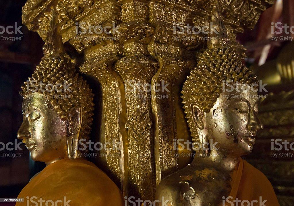 Złoty Budda, Tajlandia zbiór zdjęć royalty-free
