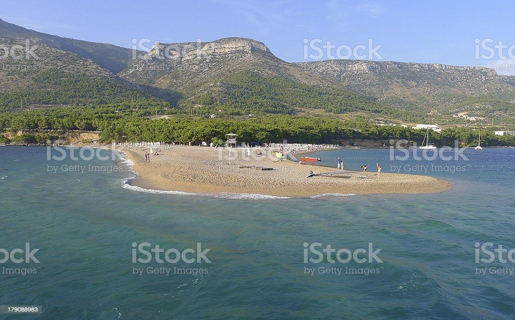 Golden cape beach royalty-free stock photo