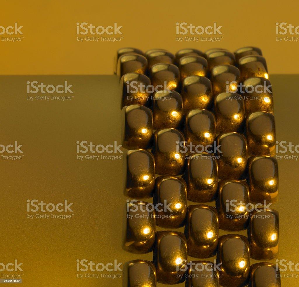 golden catena detail stock photo
