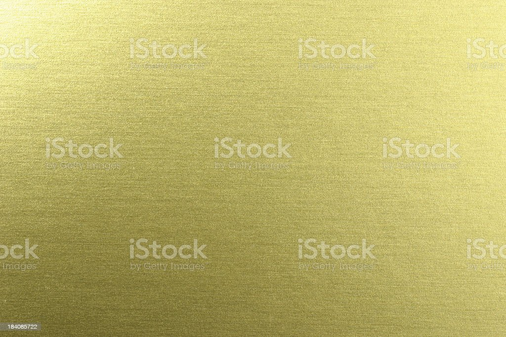 Golden Chrome Surface royalty-free stock photo