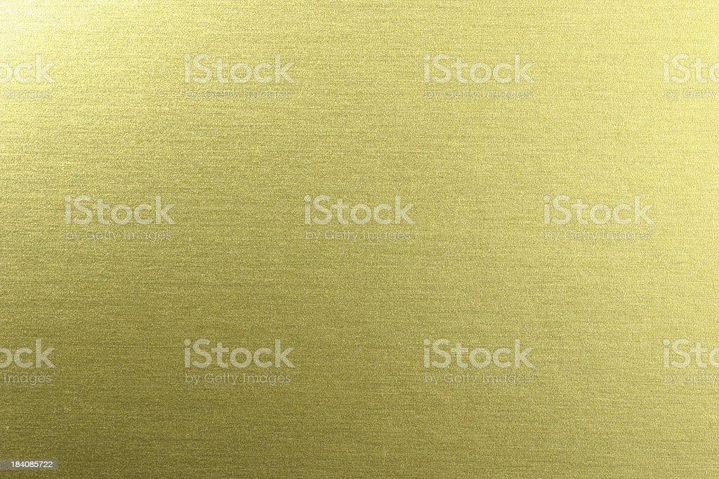 Golden Chrome Surface stock photo