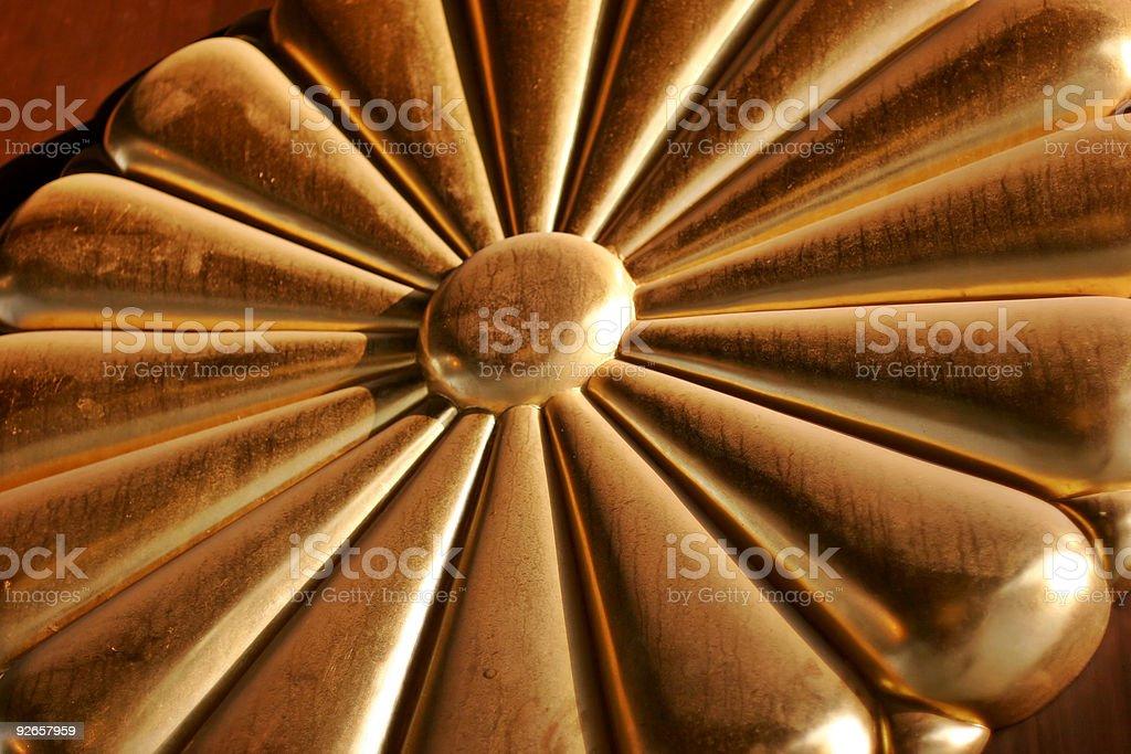Golden Chrysanthemum stock photo