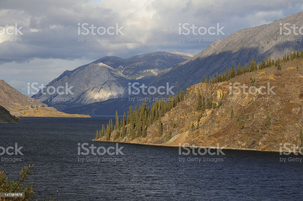 Golden Circle Yukon stock photo