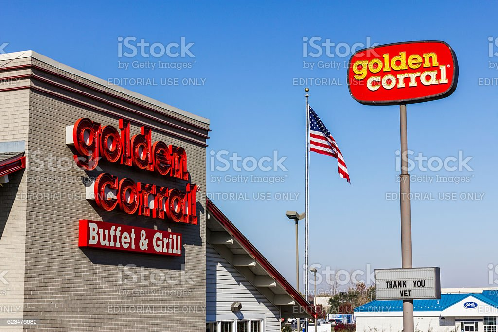 Golden Corral Buffet and Grill IV stock photo