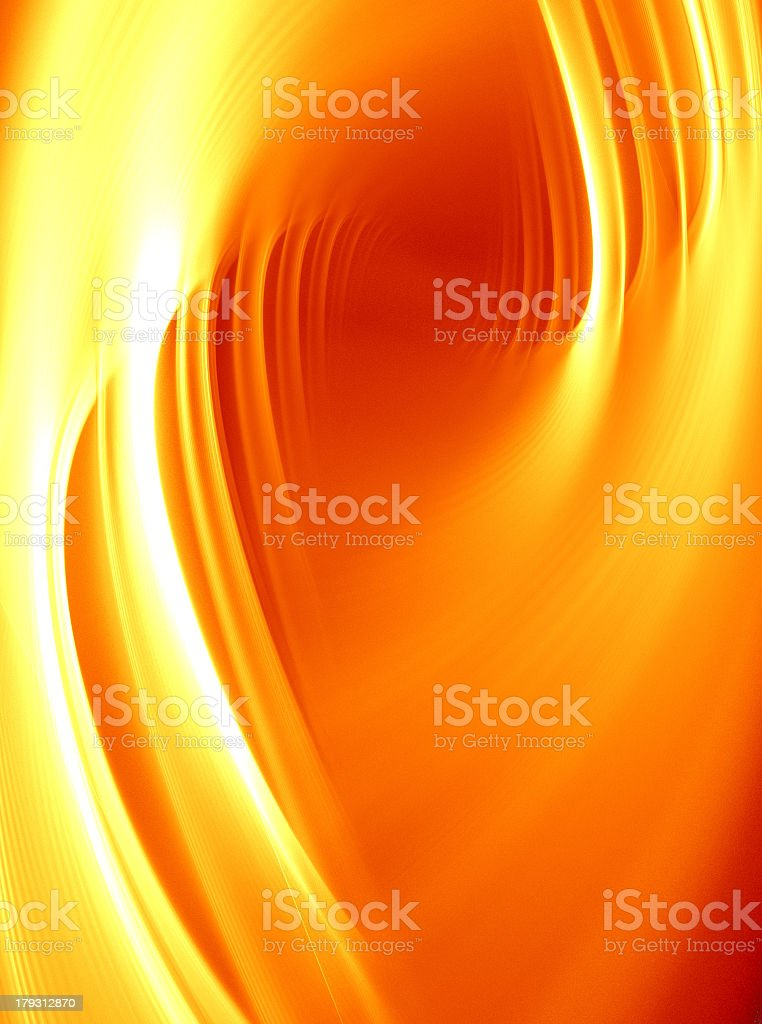 Golden Curves stock photo