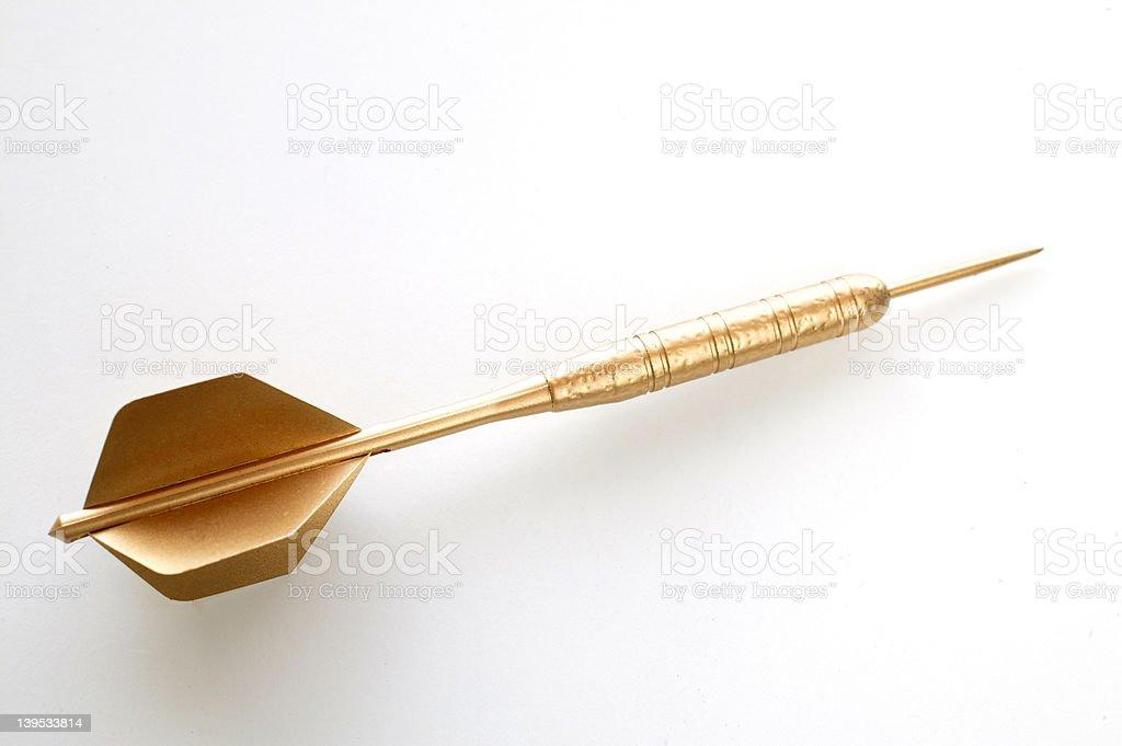 Golden Dart royalty-free stock photo