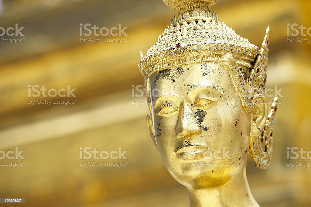 Golden Deva royalty-free stock photo