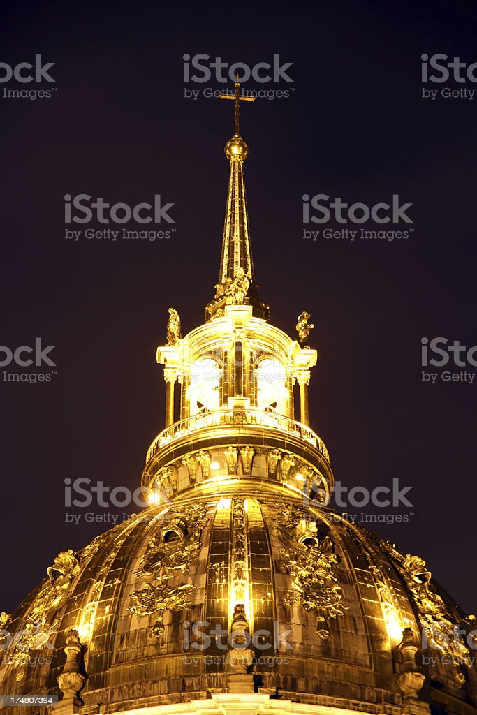 Golden Dome royalty-free stock photo