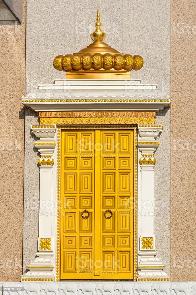Golden Door of the Hindu Temple Radha Madhav Dham royalty-free stock photo & Golden Door Of The Hindu Temple Radha Madhav Dham stock photo ... Pezcame.Com