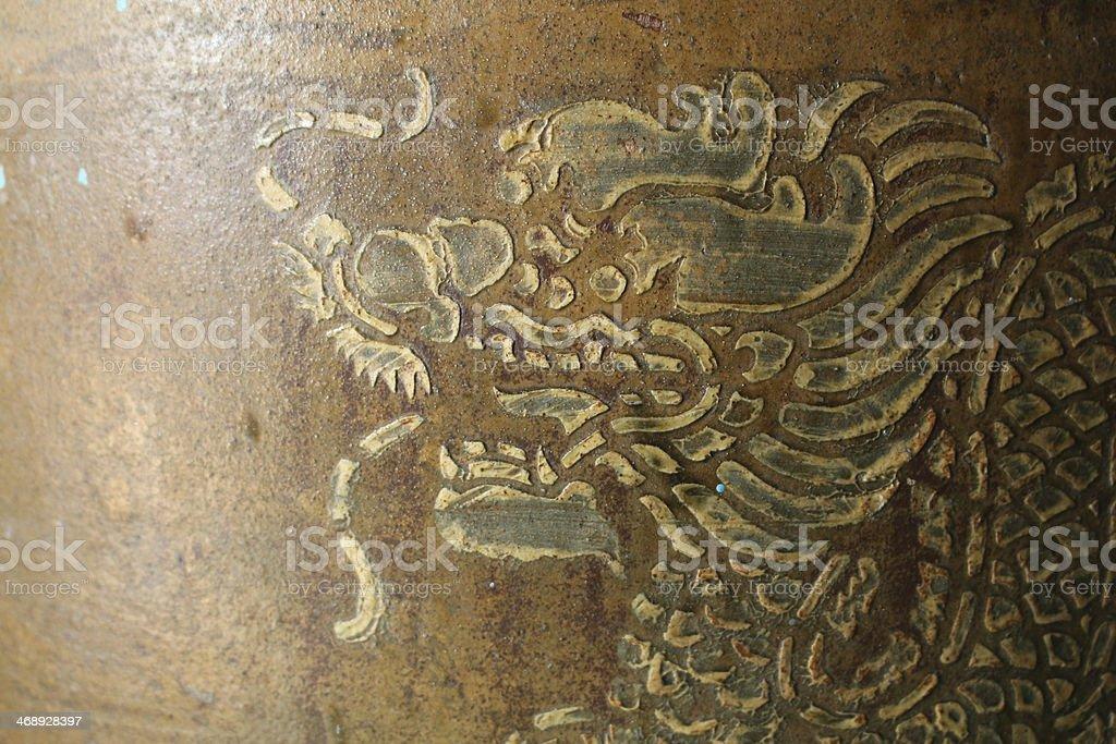 Golden Dragon stock photo