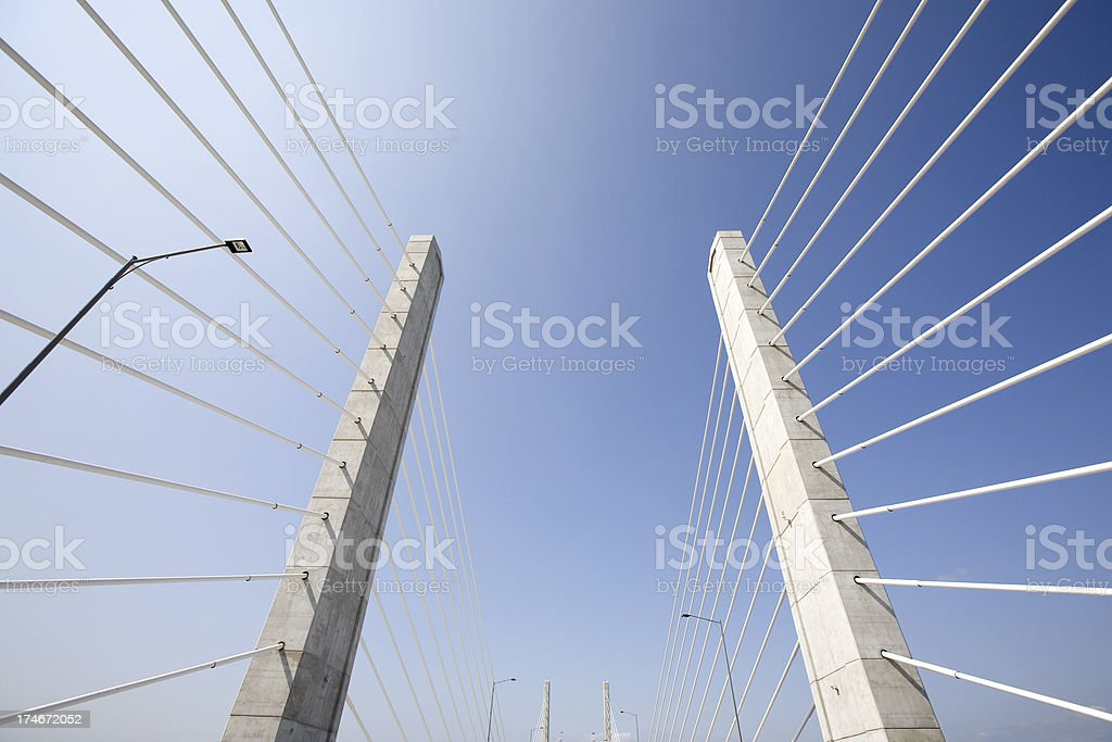 Golden Ears Bridge stock photo