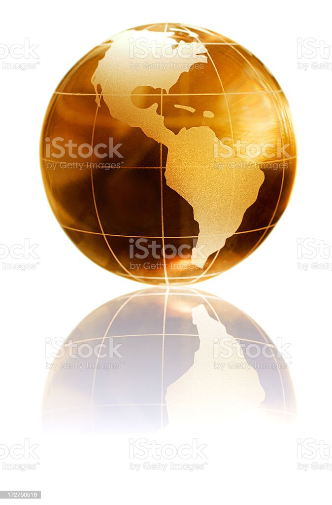 golden earth royalty-free stock photo