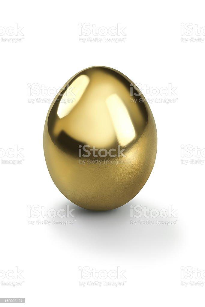 Golden egg royalty-free stock photo