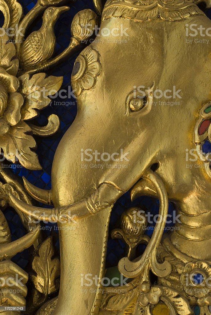Golden Elephant royalty-free stock photo