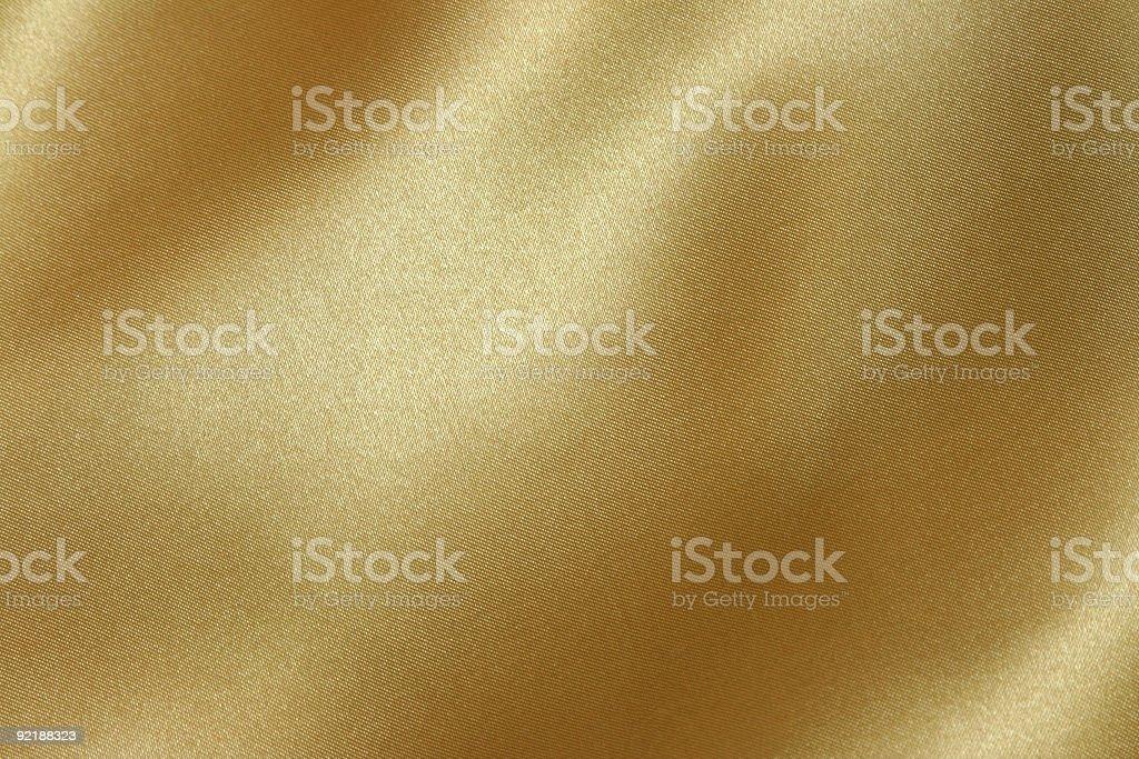 golden fabric stock photo