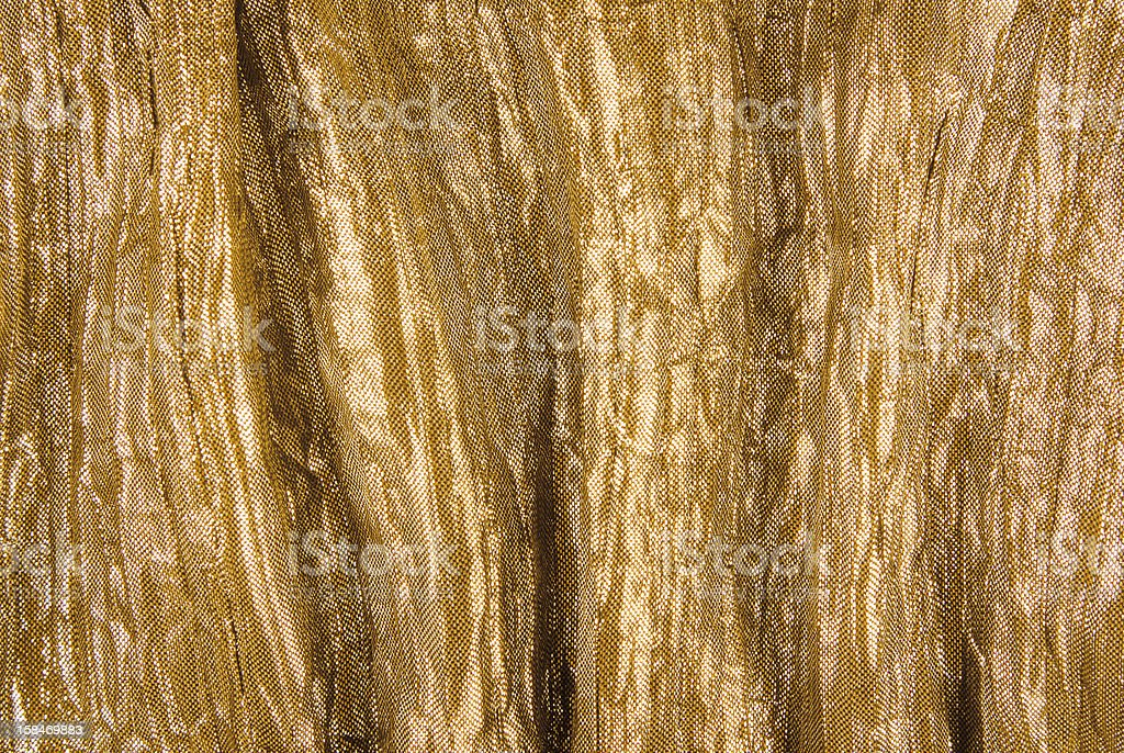 golden fabric texture royalty-free stock photo