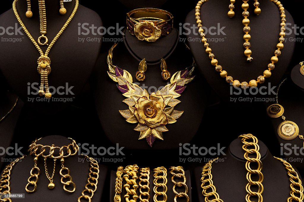 Golden Flower stock photo