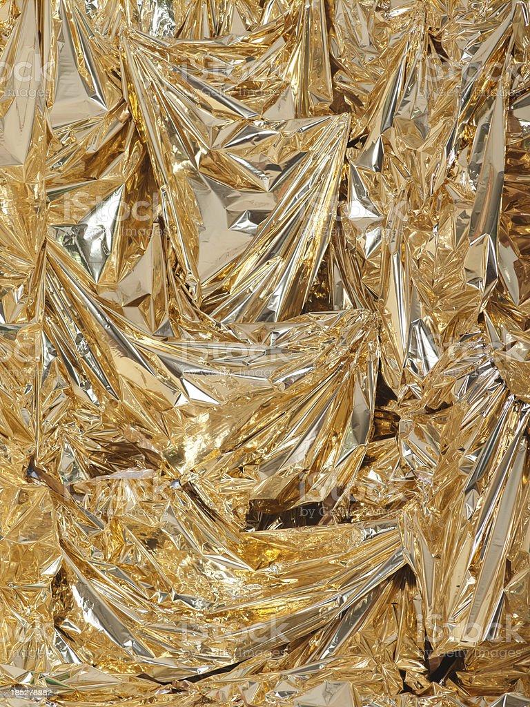 Lamina d'oro foto stock royalty-free