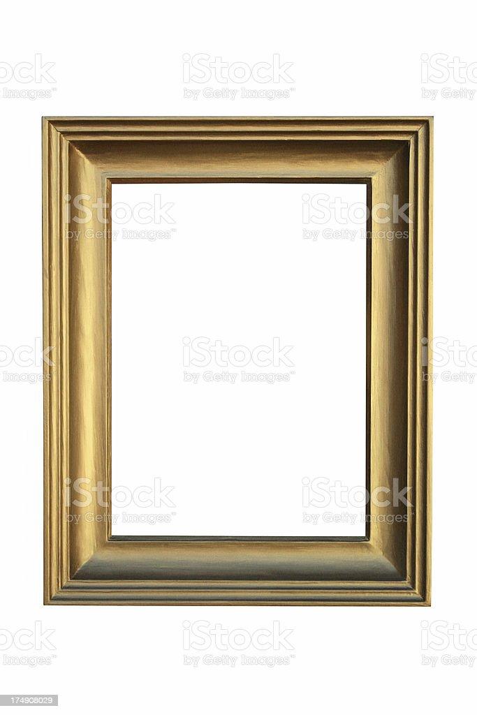 golden frame box stock photo