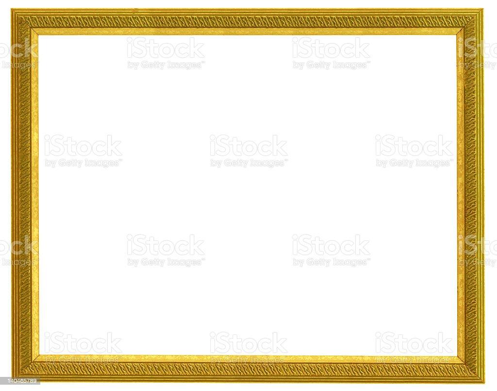 golden frame royalty-free stock photo