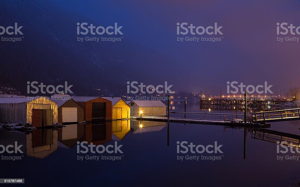 Golden Gangway stock photo