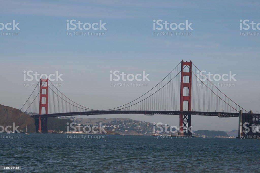 Golden Gate Bridge 3 stock photo