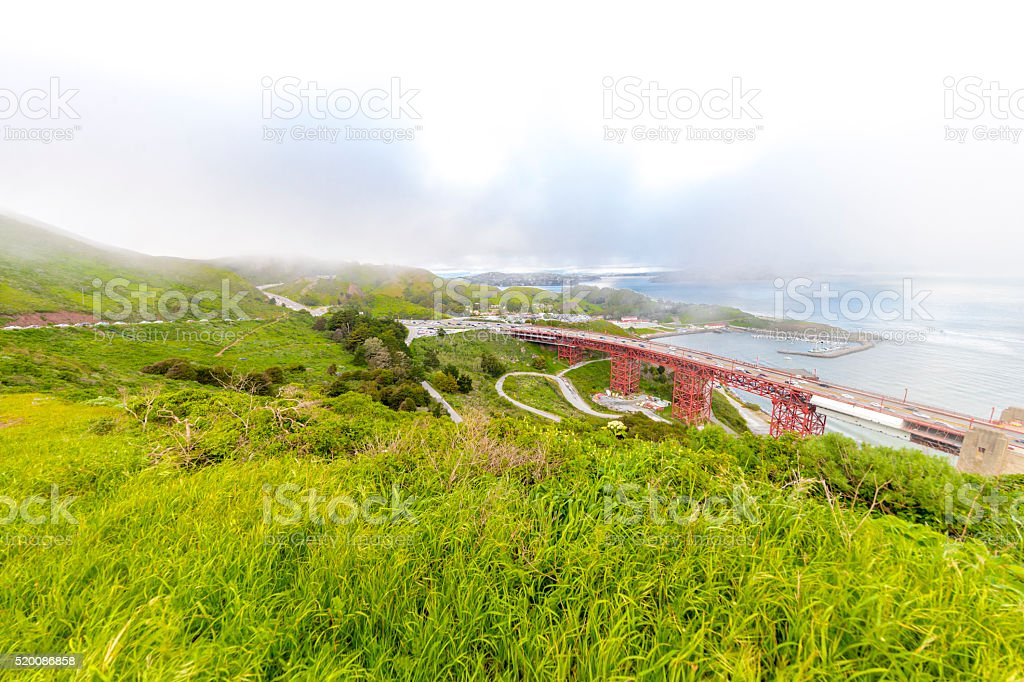 Golden Gate Bridge Extension to the Northside , San Francisco stock photo