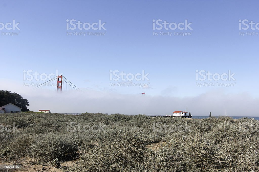 Golden Gate Bridge in San Francisco, California royalty-free stock photo