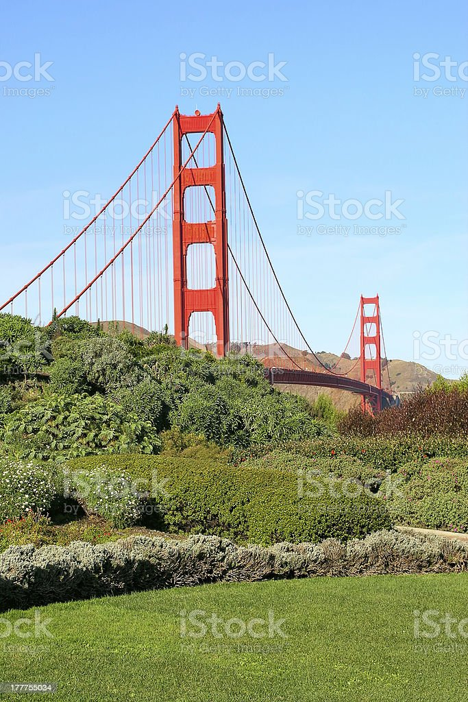 Golden Gate Bridge in San Francisco, USA. royalty-free stock photo