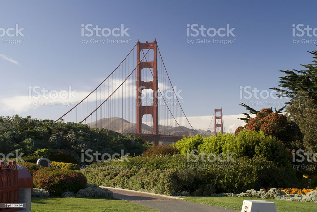 Golden Gate Bridge Park royalty-free stock photo