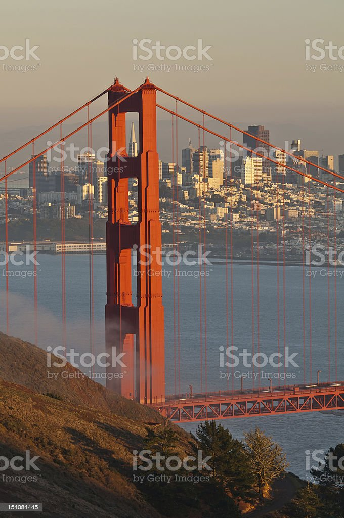 Golden Gate Bridge. royalty-free stock photo