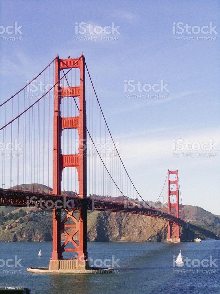Golden Gate Bridge royalty-free stock photo