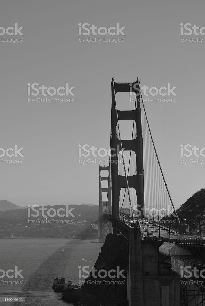 Golden Gate Bridge (Marin County) stock photo