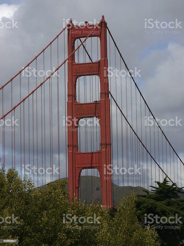 Golden Gate Bridge #4 royalty-free stock photo