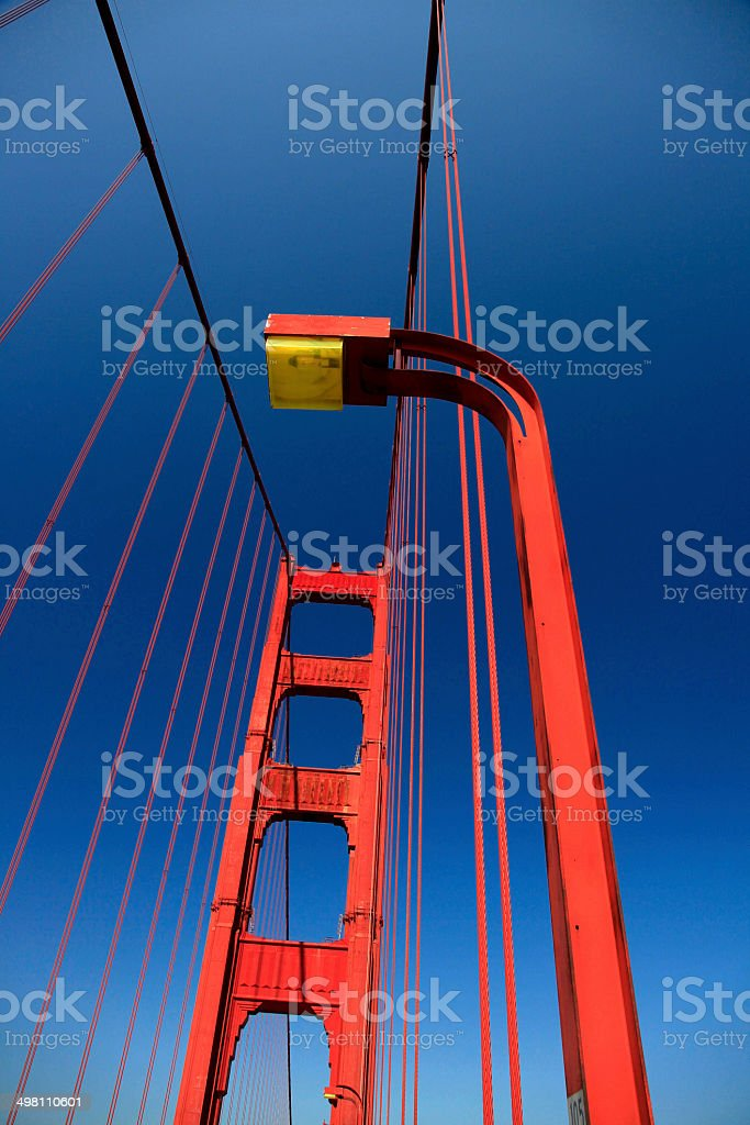 Golden Gate Bridge, San Fancisco, USA royalty-free stock photo