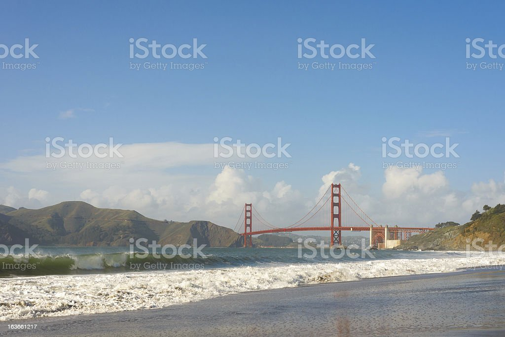 Golden Gate Bridge, San Francisco CA royalty-free stock photo