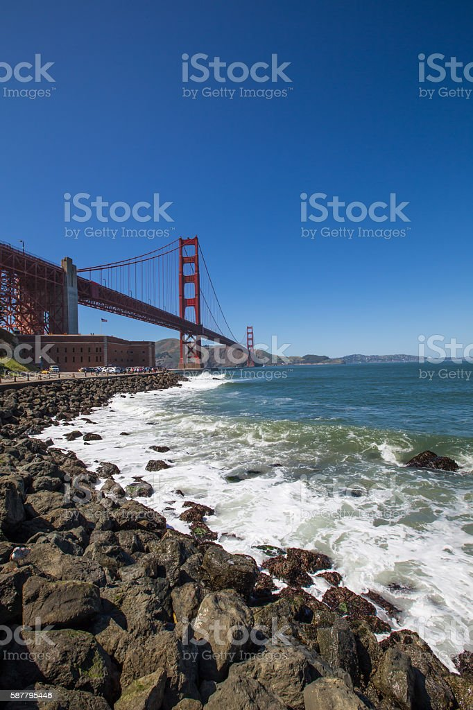 Golden Gate Bridge San Francisco CA stock photo