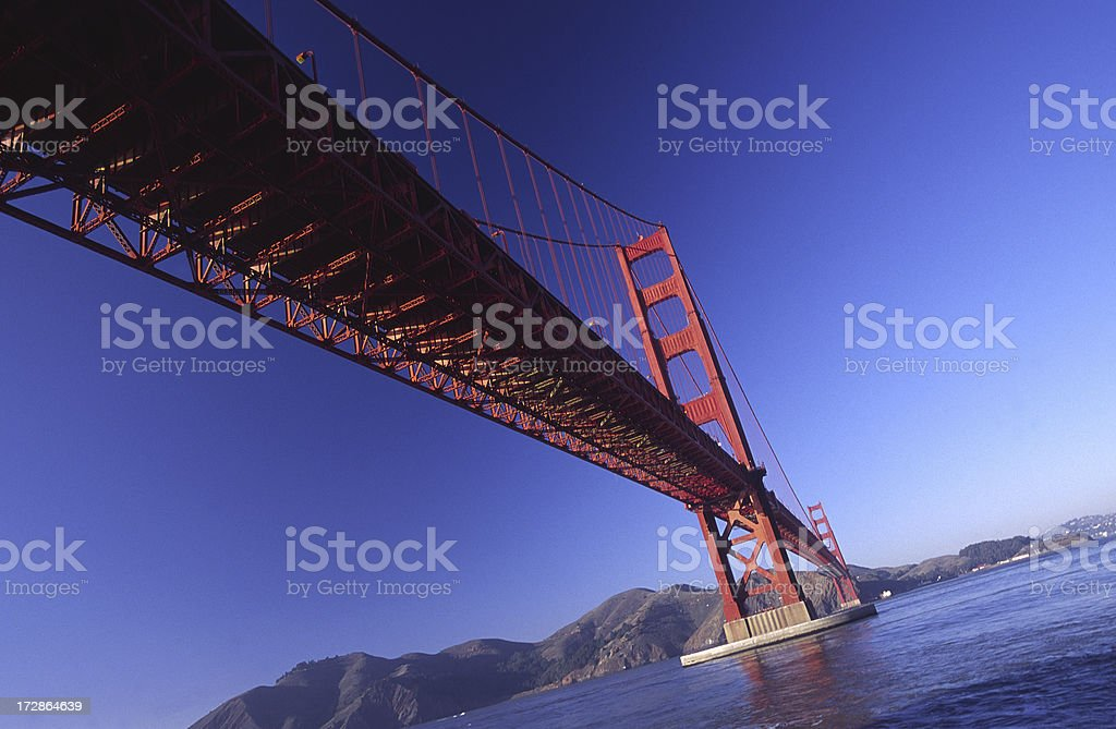 Golden Gate Bridge, San Francisco, California royalty-free stock photo