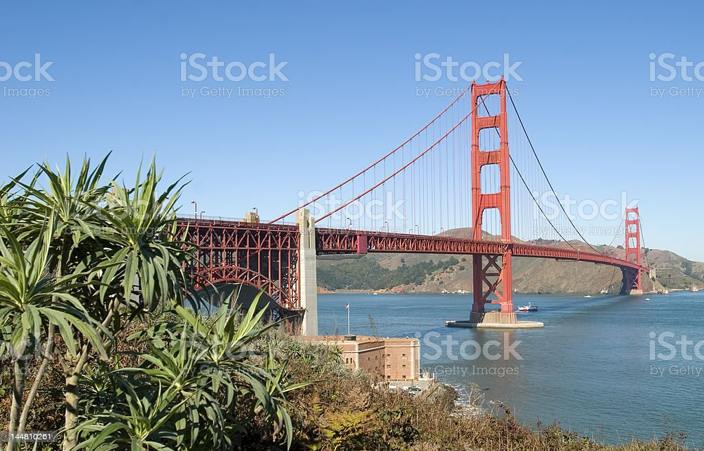 Golden Gate Bridge, San Francisco, California, USA royalty-free stock photo