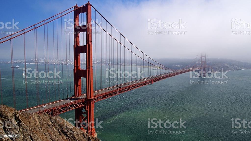 Golden Gate Bridge - San Francisco royalty-free stock photo