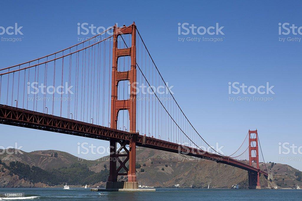 Golden Gate Bridge, San Francisco royalty-free stock photo