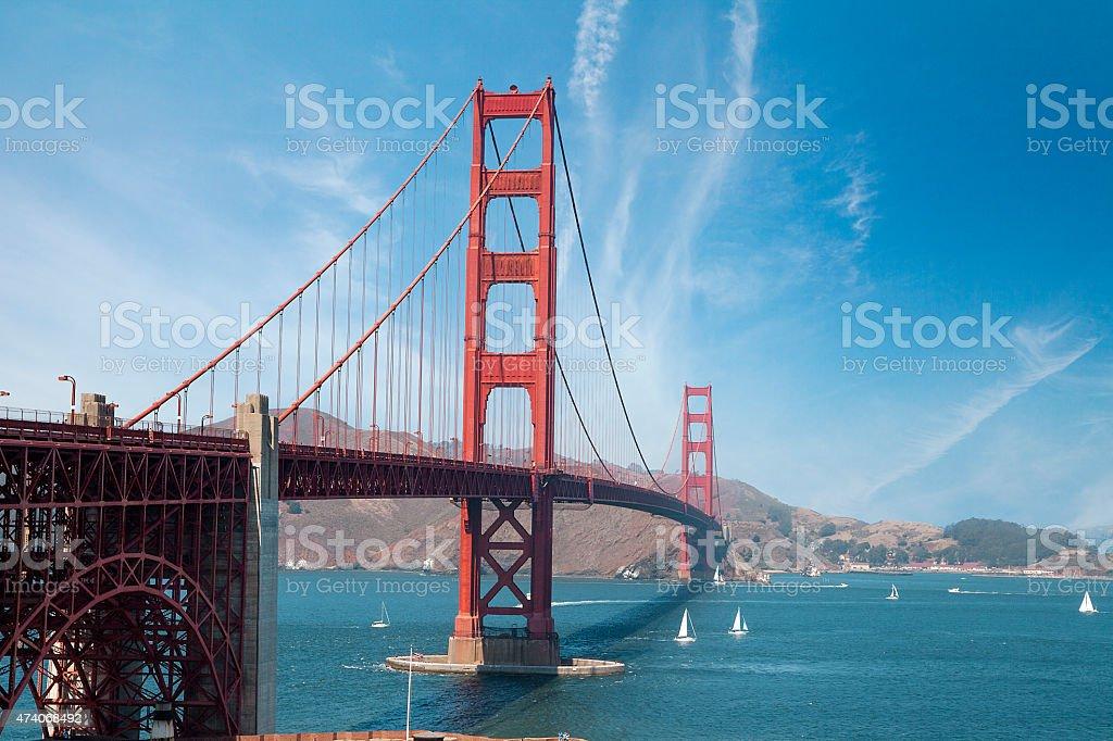 Golden Gate Bridge - San Francisco stock photo