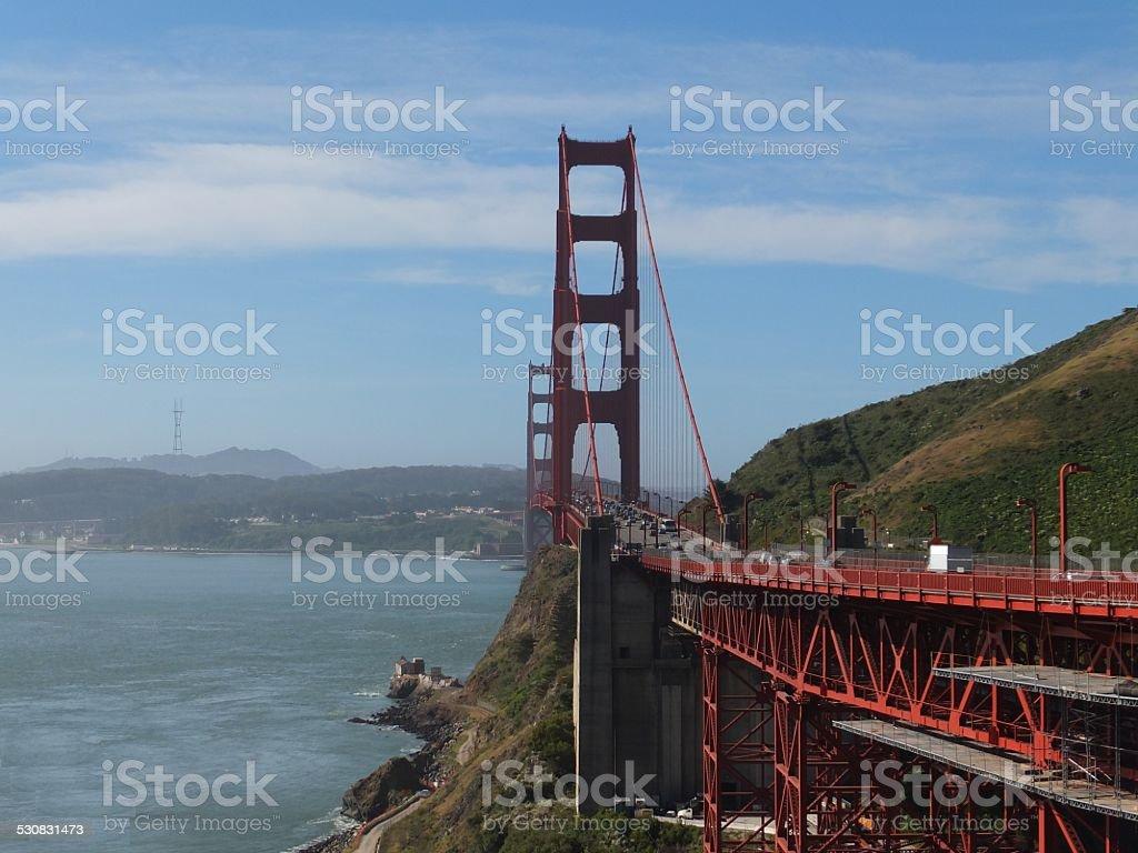 Puente Golden Gate, San Francisco foto de stock libre de derechos