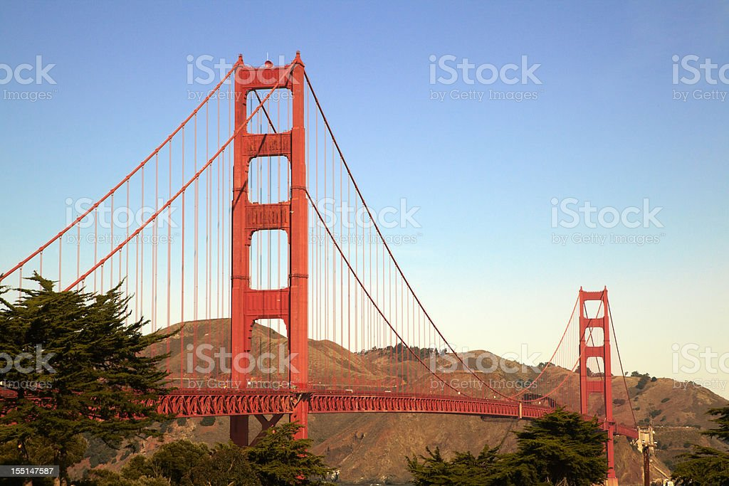 Golden Gate Bridge, San Francisco, Travel Destination royalty-free stock photo
