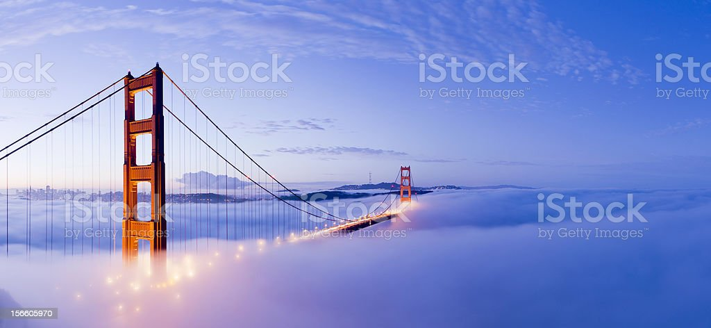 Golden Gate Bridge San Francisco USA stock photo