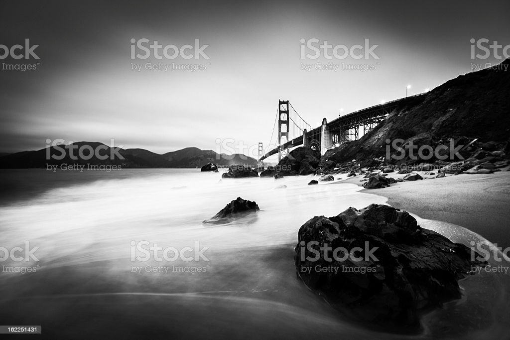 Golden Gate Bridge, San Francisco, USA. stock photo