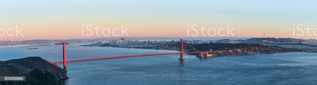 Golden Gate Bridge, San Francisco, USA stock photo