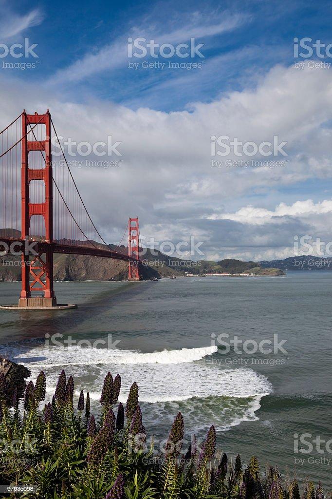 golden gate bridge, san francisco, usa royalty-free stock photo