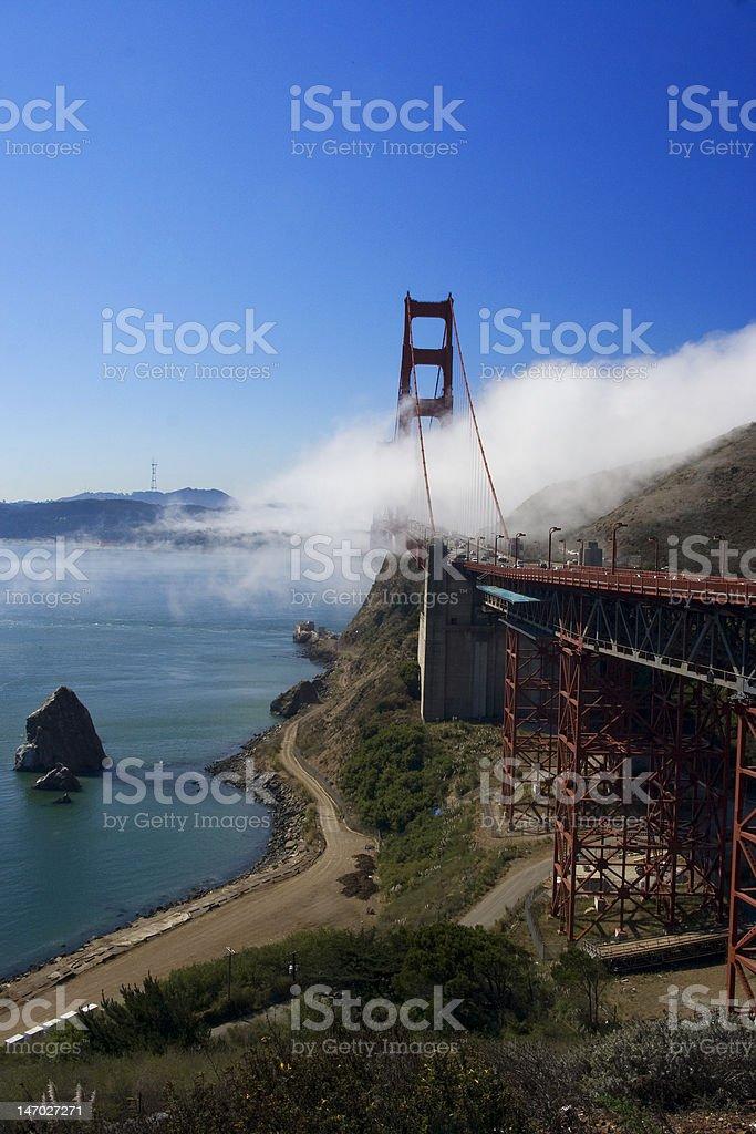 Golden gate Bridge San Francsico California USA royalty-free stock photo