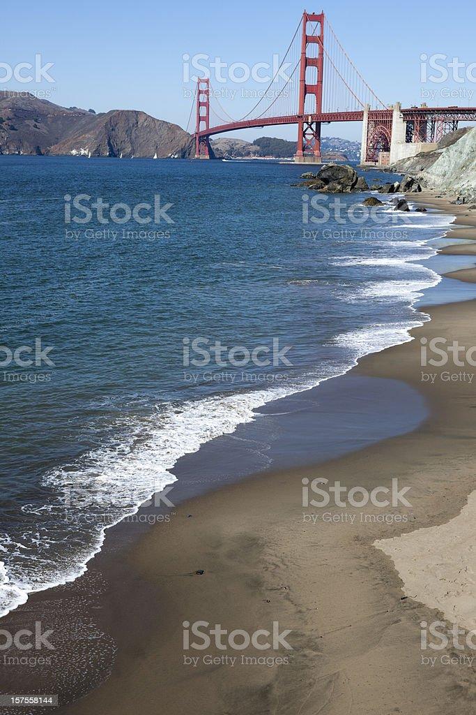 Golden Gate Bridge, Scenes of San Francisco, California, USA stock photo